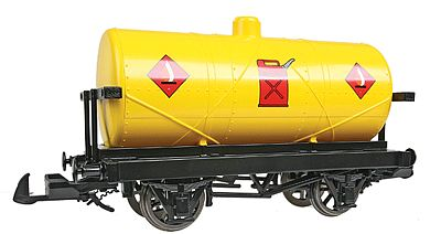 Bachmann Rolling Stock - Sodor Fuel Tank Car -- G Scale Model Train Freight Car -- #98004