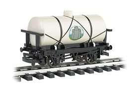 Bachmann Cream Tanker G Scale Model Train Freight Car #98014