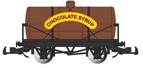 Bachmann Tank Car - Ready to Run - Thomas & Friends(TM) Chocolate Syrup - G-Scale