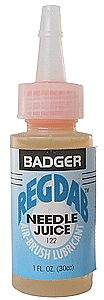 Badger Airbrush Co. Regdab Airbrush Lubricant 1oz. Bottle -- Airbrush Accessory -- #122
