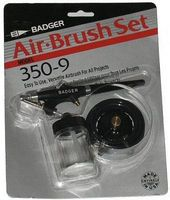 Badger Medium Head Single Action Bottom Feed Airbrush (Blister/Cd) Airbrush and Airbrush Set #3509