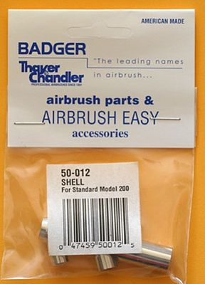 Badger Airbrush Co. Shell/Airbrush Body Model 200 w/Needle Bearing -- Airbrush Accessory -- #50012
