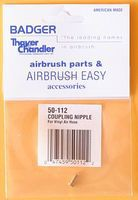Badger Coupling Nipple Airbrush Accessory #50112