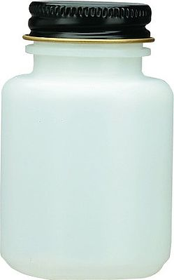 Badger Airbrush Co. 51-0054 PLASTIC JAR 3oz PLAIN -- Airbrush Accessory -- #510054