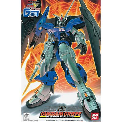 Bandai Models HG Gundam Griepe Gundam Wing G-Unit -- Snap Together Plastic Model Figure -- 1/144 Scale -- #059430