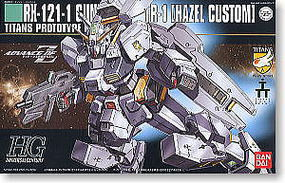 Bandai 56 RX121-1 TR-1 Haszel Custom Snap Together Plastic Model Figure #134107