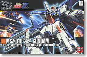 Bandai 111 MSZ-010 ZZ GUNDAM Snap Together Plastic Model Figure #163276