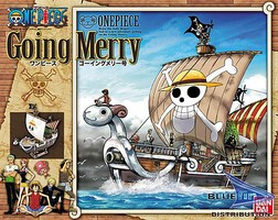 Bandai GOING MERRY MODEL SHIP Snap Together Plastic Model Figure #165509