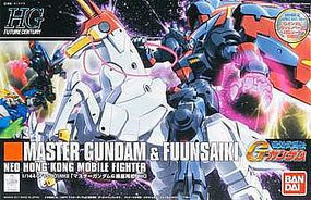 Bandai 128 MASTER GUBDAM & FUUNSAIKI Snap Together Plastic Model Figure #170961