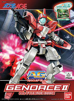 Bandai 011 GENOACE II AG Snap Together Plastic Model Figure #175083