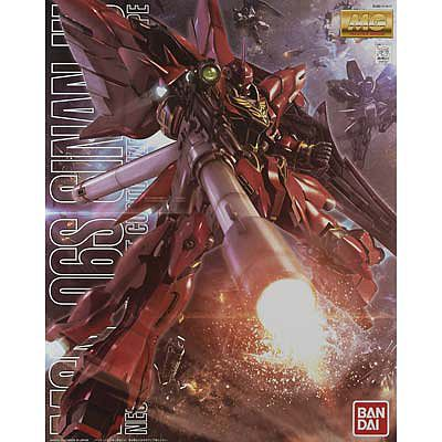 Bandai Models MG 1/100 Sinanju (Anime Color Ver.) -- Snap Together Plastic Model Figure -- #181597