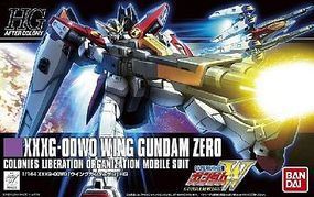 Bandai HG Universal Century Series- #174 XXXG00W0 Snap Together Plastic Model Figure 1/144 #186522