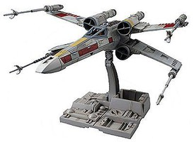 Bandai X-Wing Star Fighter Star Wars Snap Tite Plastic Model Figure 1/72 Scale #191406