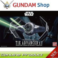 Bandai Tie Advanced X1 Star Wars Snap Tite Plastic Model Figure 1/72 Scale #191407
