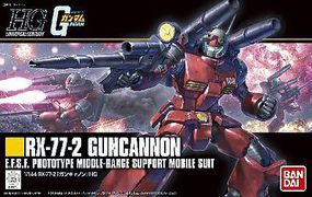 Bandai Guncannon Revive Snap Together Plastic Model Figure 1/144 Scale #196715