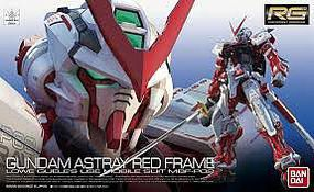 Bandai RG MBF-P02 Gundam Astray Red Frame Snap Together Plastic Model Figure 1/144 Scale #200634