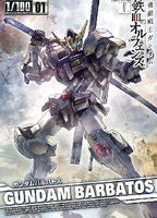 Bandai Gundam Barbatos (Gundam Orphans) Snap Together Plastic Model Figure 1/100 Scale #201886