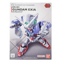 Bandai SD EX-Standard Gundam Exia Snap Together Plastic Model Figure #202753