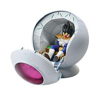 Bandai Saiyan Space Pod Dragon Ball Z Fig-Rise Mechanic Snap Together Plastic Model Figure #210526