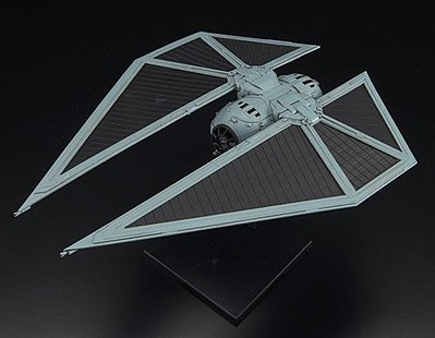 Bandai Models Tie Striker Rogue One A Star Wars Story -- Snap Tite Plastic Model Figure -- 1/72 Scale -- #214474