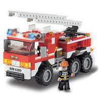 Brictek Fire Engine 171pcs Building Block Set #11303