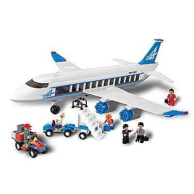 BRICTEK BUILDING BLOCKS Airplane 434pcs -- Building Block Set -- #11504
