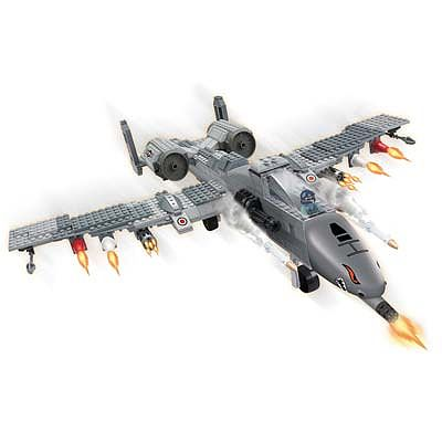 BRICTEK BUILDING BLOCKS Air Force Fighter Plane 384pcs -- Building Block Set -- #15713