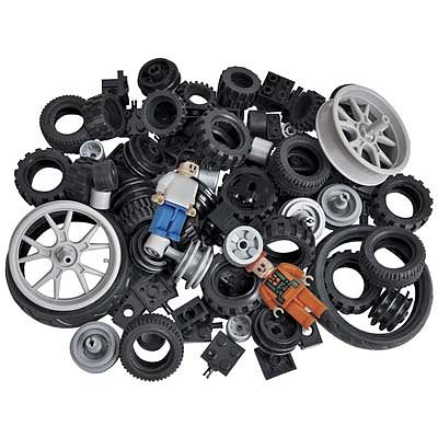 BRICTEK BUILDING BLOCKS Wheels Kit 108pcs -- Building Block Set -- #19004