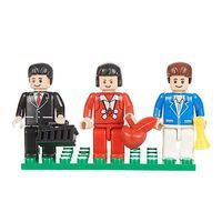 Brictek Mini Figurines Urban (3) Building Block Set #19302