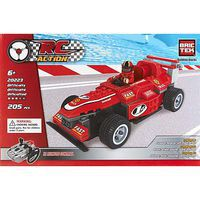 Brictek R/C Red Racing Car w/Figure 119pcs