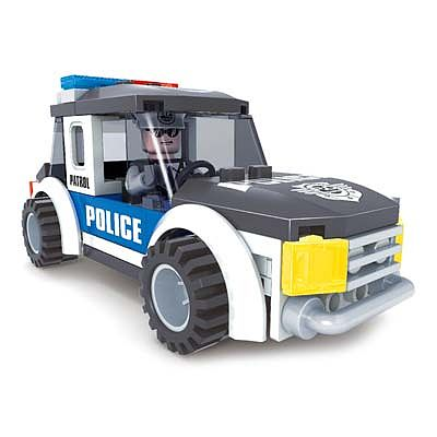 BRICTEK BUILDING BLOCKS Police Jeep 71pcs -- Building Block Set -- #21003