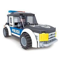 Brictek Police Jeep 71pcs Building Block Set #21003
