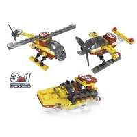 Brictek Airport Mini Seaplane 3in1 52pcs Building Block Set #21525