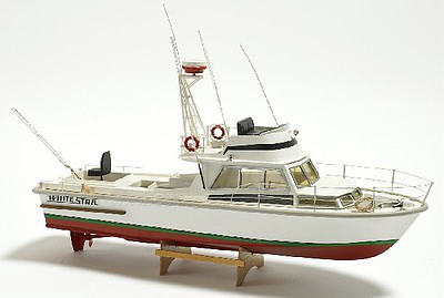 Billing Boats 1/15 White Star American Motor Boat w/Vacu-Form Hull (Intermediate) (can be motorized-not included)