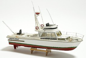 Billing-Boats 1/15 White Star American Motor Boat w/Vacu-Form Hull (Intermediate) (can be motorized-not included)
