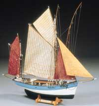 Billing Boats 1/50 Marie Jeanne Double-Masted 19thc. French Tuna Boat (Intermediate)