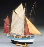 Billing-Boats 1/50 Marie Jeanne Double-Masted 19thc. French Tuna Boat (Intermediate)