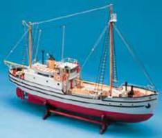 Billing-Boats 1/72 St. Roch Double-Masted RCMP Arctic Patrol Boat (Intermediate)