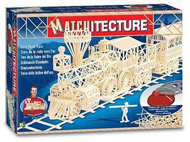Bojeux Gold Rush Train (1800pcs) Wooden Construction Kit #6613