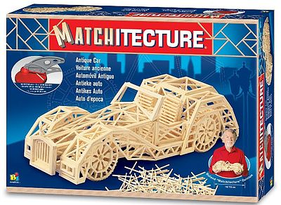 Bojeux Antique Car (1150pcs) -- Wooden Construction Kit -- #6616