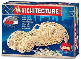 Bojeux Antique Car (1150pcs) Wooden Construction Kit #6616