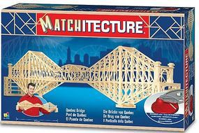 Bojeux Quebec Bridge (Canada) (2150pcs) Wooden Construction Kit #6620
