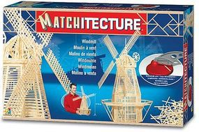 Bojeux Dutch Windmill (2700pcs) Wooden Construction Kit #6621