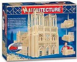 Bojeux Notre Dame Cathedral (Paris, France) (7500pcs) Wooden Construction Kit #6636