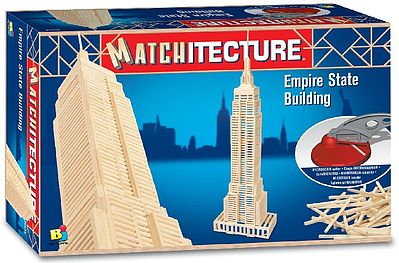Bojeux Empire State Building (New York, USA) (650pcs) -- Wooden Construction Kit -- #6647