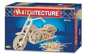 Bojeux Motorcycle Wooden Construction Kit #6649
