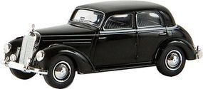Berkina Mercedes Benz 220 Sedan Assembled Olive Yellow Model Railroad Vehicle HO Scale #13056