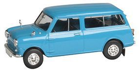 Berkina 1960s Austin Mini Countryman Station Wagon Assembled Model Railroad Vehicle HO Scale #15301