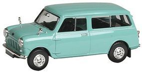 Berkina 1960s Austin Mini Countryman Station Wagon Assembled Model Railroad Vehicle HO Scale #15302
