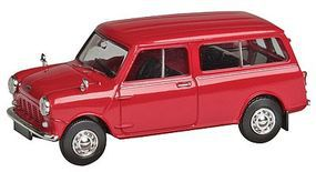 Berkina 1960s Austin Mini Countryman Station Wagon Assembled Model Railroad Vehicle HO Scale #15303